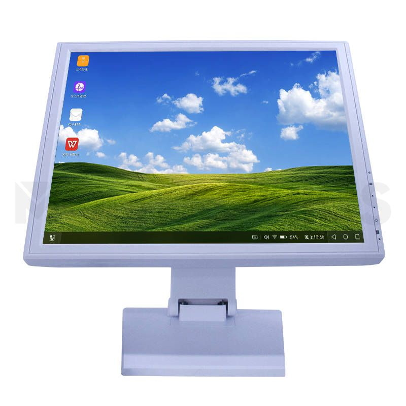 17 inch White Resistive Touch Monitor