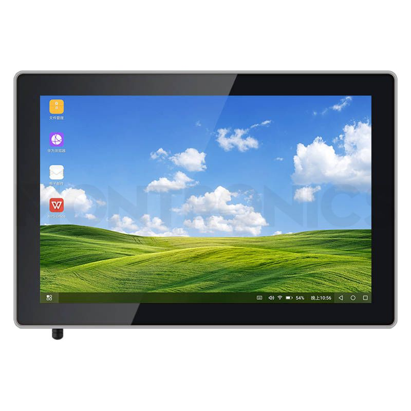 10.1 inch Flat Capacitive Touch Monitor with Aluminum Metal Frame