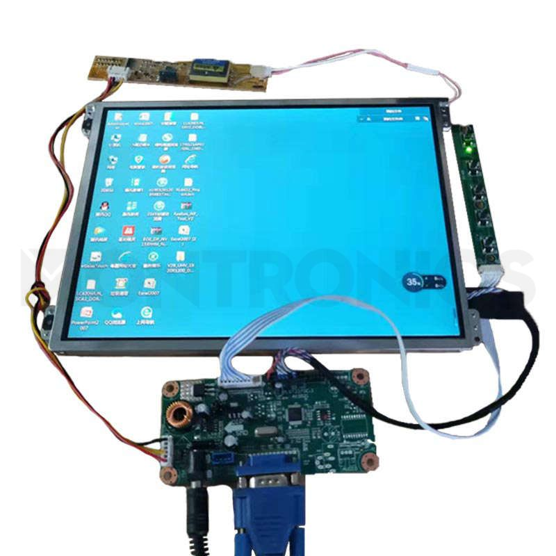10.4 inch Open Frame RS232 Touch Monitor without Case