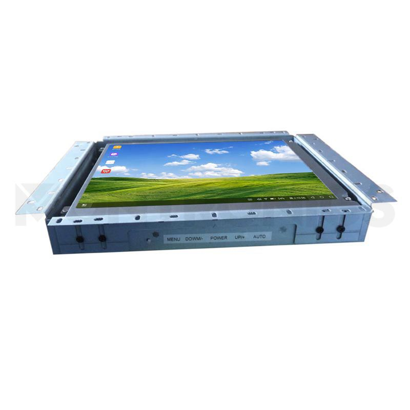 15 inch High Brightness Capacitive Touch Monitor with Metal Frame