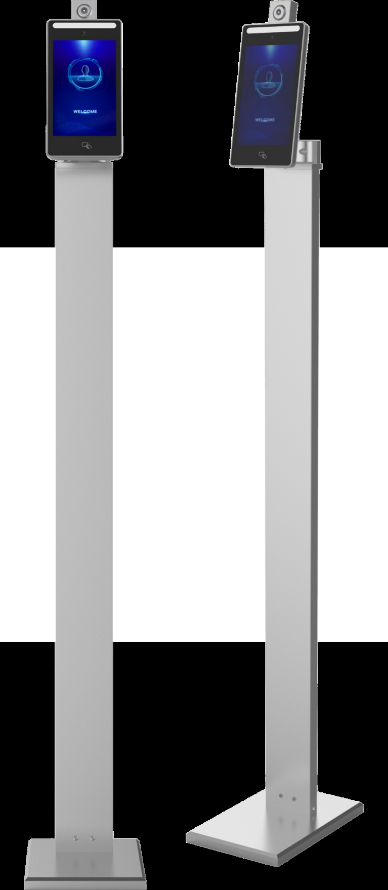 Face recognition temperature measuring Access Control Machine
