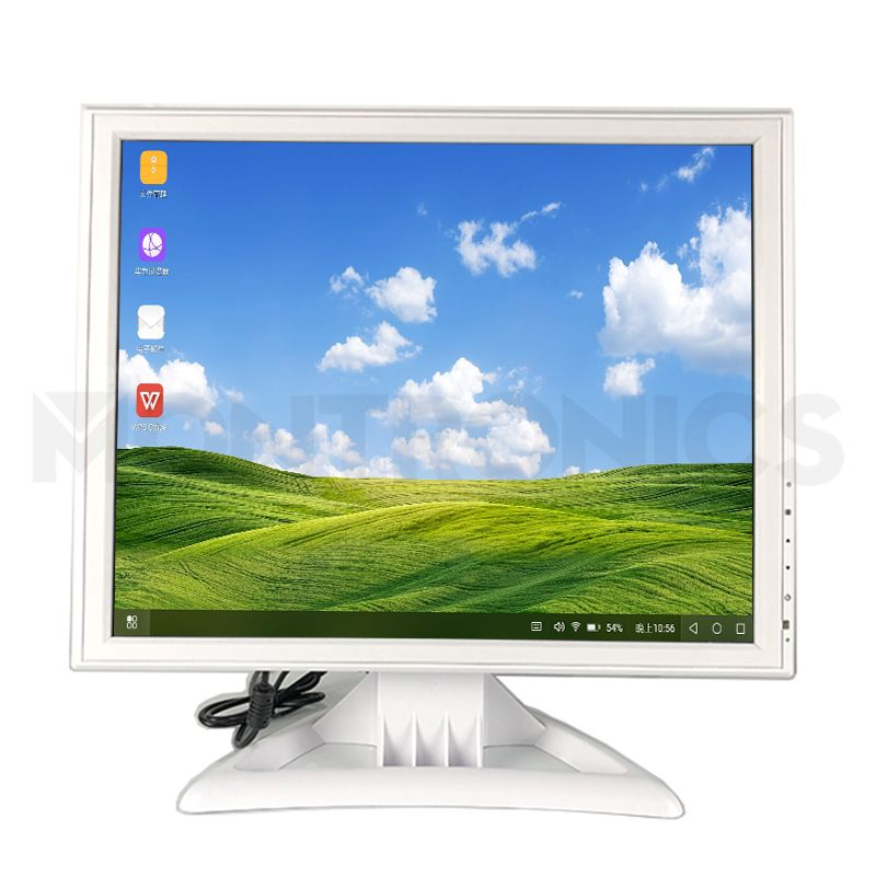 17 inch White LCD monitor